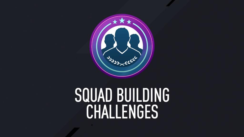 Squad Building Challenge Sfide Creazione Rosa FIfa Ultimate Team