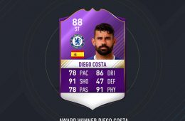 Diego Costa Player of the Month